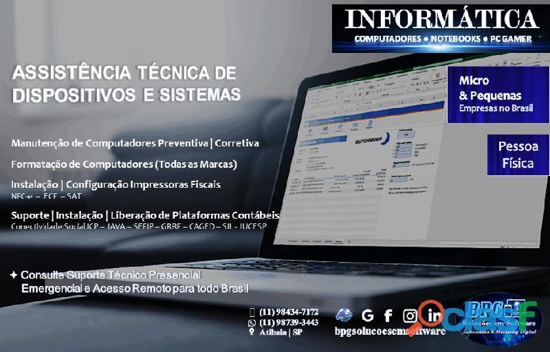Soluções em software informática e marketing digital