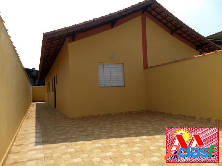 Casa nova 2dormitorios 1suite r$196.900,00 em mongaguá na mendes casas