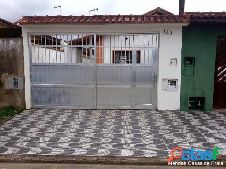 Ótima casa c/ 2 dormts á venda - realize o sonho de morar no litoral !!