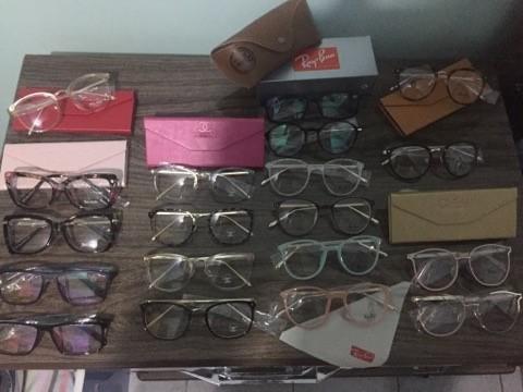 Armações para óculos de grau diversos modelos. armação