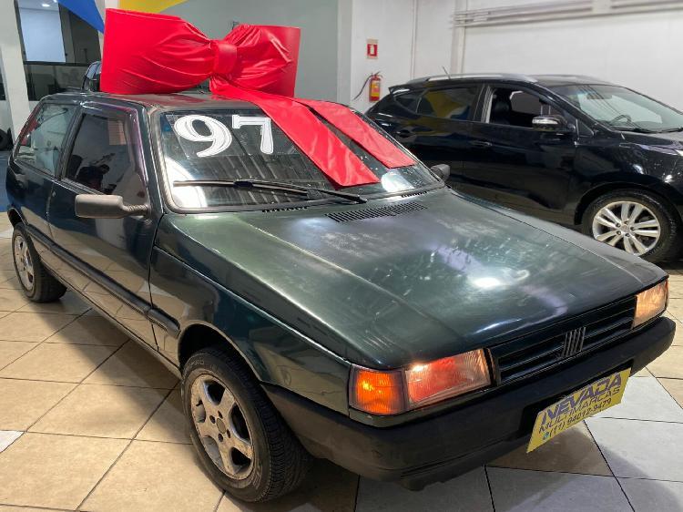 Fiat uno 1.0 mille sx 8v verde 1997/1997 - santo andré