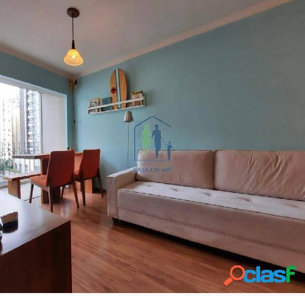 Vende-se apartamento mobiliado no edifício san georges, vila olímpia...