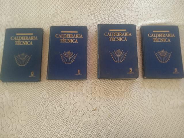 Coleção caldeiraria técnica 4 volumes