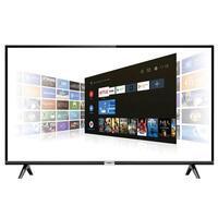 Smart tv android led full hd 43 polegadas 2 hdmi wi fi
