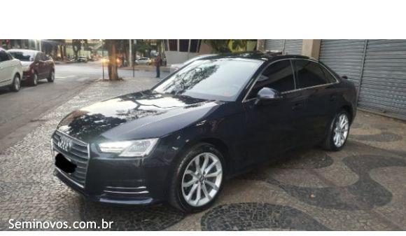 Audi a4 2.0 ambiente 2.0 tfsi 190cv s tronic 17/18 azul