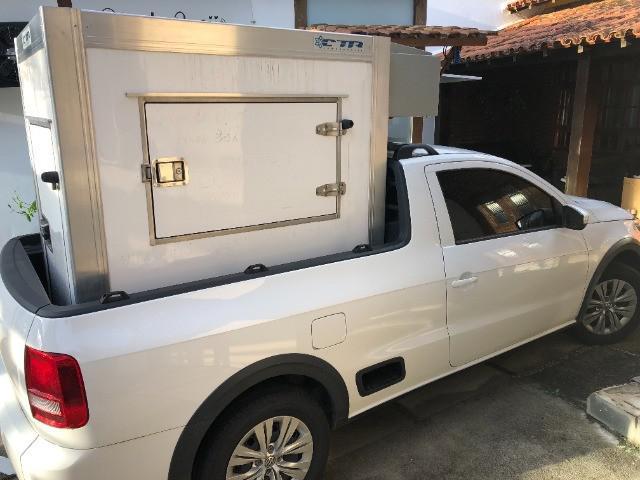 Baú frigorifico móvel para congelados super novo (sorvete,