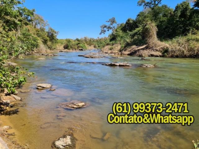 Chácaras escrituradas, rio verde, excelente pesca e lazer!