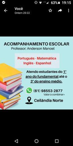 Professor de inglês e português