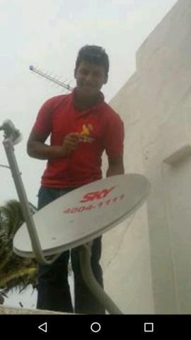 Serviços de instalação de antenas