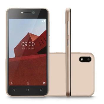 Smartphone dual chip 32gb 3g p9129 celular barato dourado -