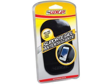Suporte veicular para celular gel luxcar 4350 - suporte para