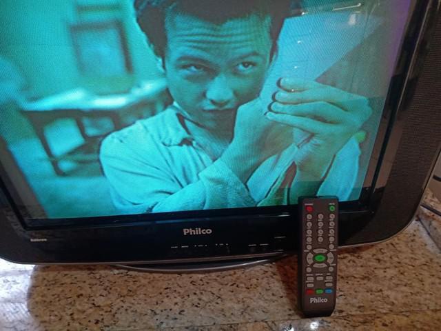 Tv de tubo philco modelo ph21 m se