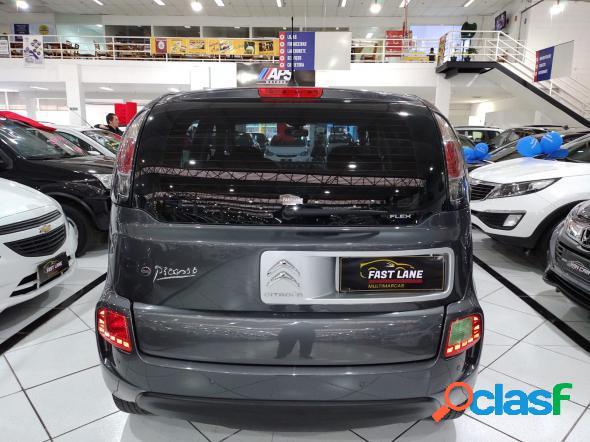 Citroen c3 picasso glx 1.6 flex 16v 5p aut. cinza 2012 1.6 flex