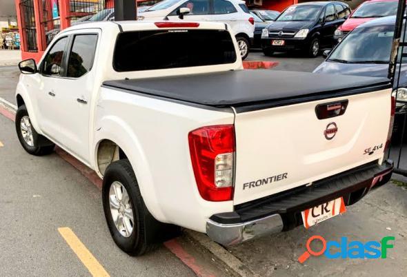 Nissan frontier se cd 4x4 2.3 bi-tb diesel aut. branco 2018 2.3 diesel