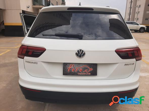 Volkswagen tiguan allspac comf 250 tsi 1.4 flex branco 2019 1.4 flex