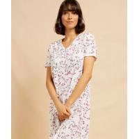 Camisola feminina estampa floral manga curta marisa <div
