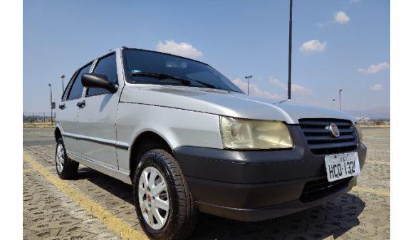 Fiat uno 1.0 mille 1.0 fire/ f.flex/ economy 4p 05/05 prata