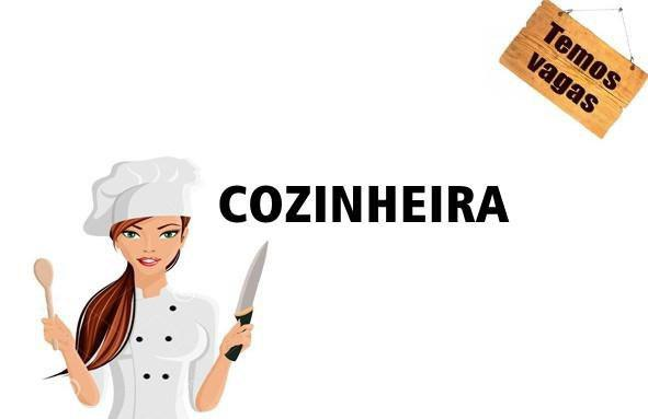 Vaga para cozinheira