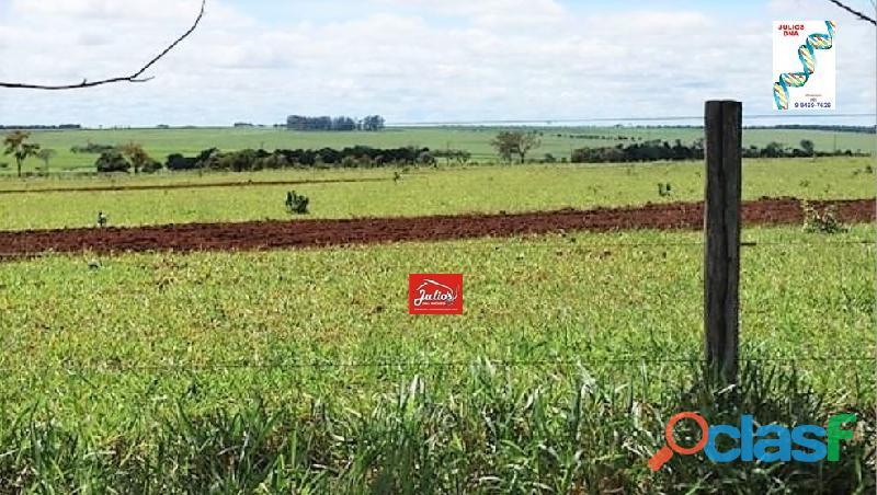 Fazenda plantando soja e cana em chapadão do céu go área 5.800 há