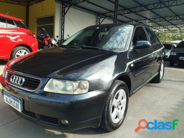 Audi a3 1.8 5p aut. preto 2006 1.8 gasolina