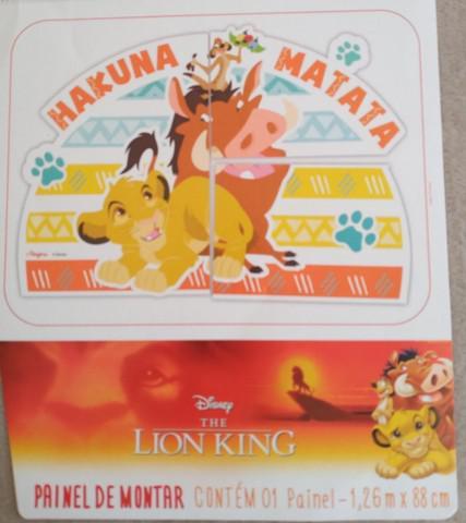 Decoração festa infantil rei leão