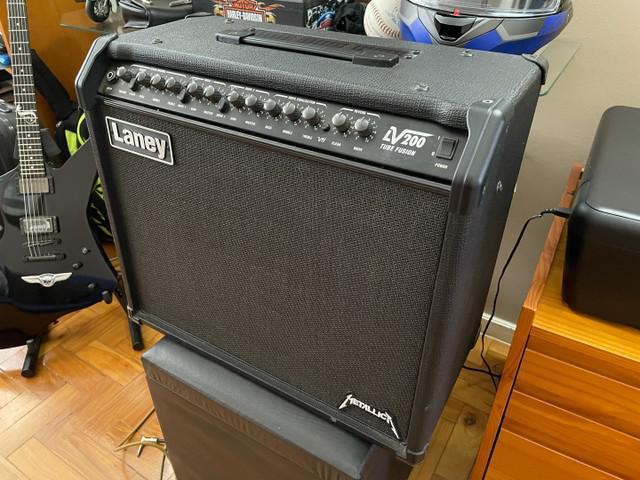 Amplificador cubo para guitarra - laney lv200 tube fusion