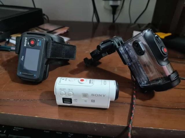 Camera sony hdr az1 (estilo go pro)