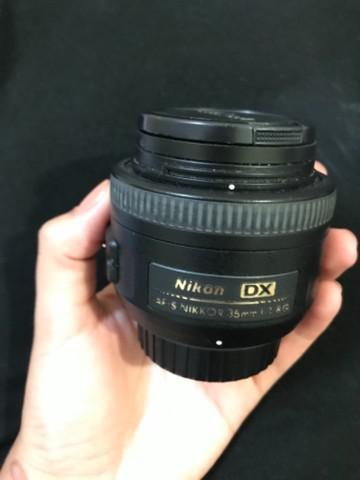 Lente 35mm 1.8 nikon