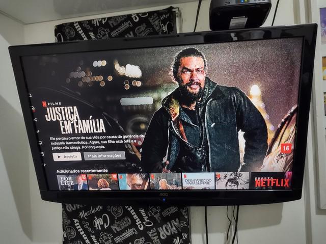 Tv plasma 42 polegadas aoc perfeita