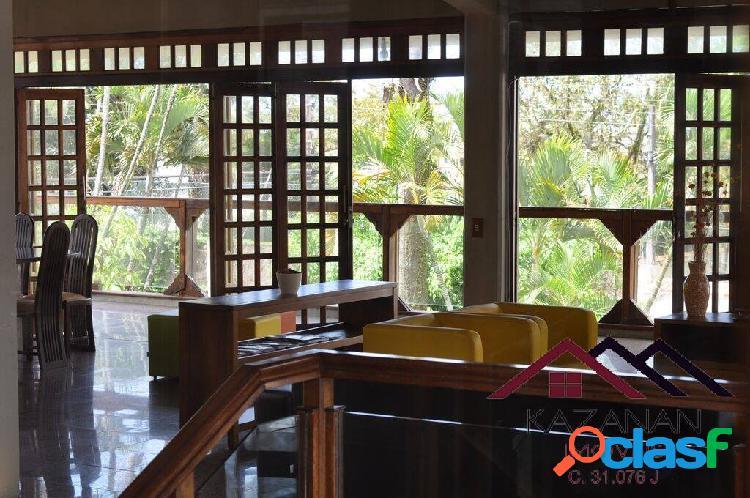 Casa próximo a praia, 6 dormitórios, 6 banheiros, com 500m² no guarujá, sp