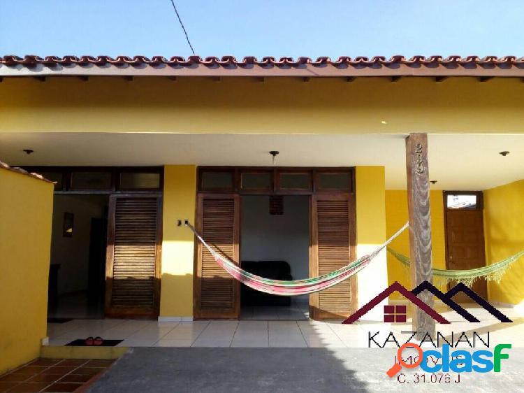 CASA - 3 DORMITÓRIOS- TEMPORADA - UBATUBA - LITORAL NORTE