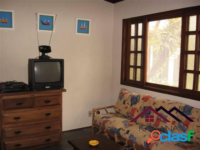 Casa temporada - 2 dormitórios (1 suite) - praia tenório - ubatuba