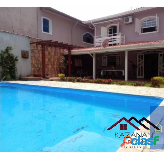 Casa 4 dormitórios com piscina - ubatuba - litoral norte