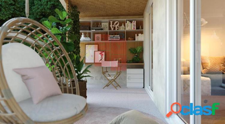 Apartamento garden para venda em rio de janeiro / rj no bairro jardim botânico
