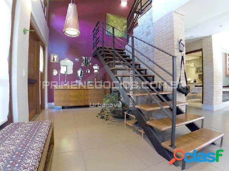 Casa em urbanova - condominio alto da serra i - 3 suites - piscina