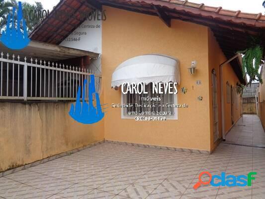 Casa c/ 2 dormitórios a 400 metros da praia financiamento bancário