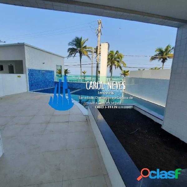Apartamento beira mar 2 dormitórios jd praia grande mongaguá financiamento