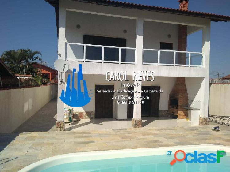 Casa 3 dormitórios lado praia cibratel ii itanhaém financiamento bancário