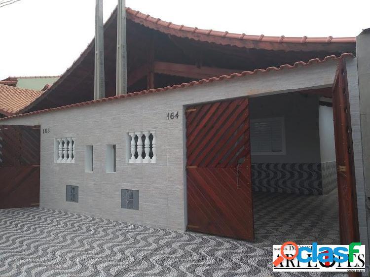 Casa a venda em mongagua - nova - com piscina - bairro jussara