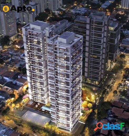 Apartamentos a venda brooklin/grand habitart-2 suítes