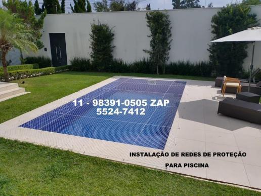 Redes de proteção para piscina, para sua maior segurança.