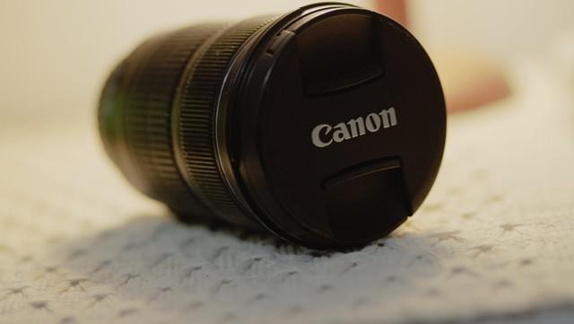 Lente canon ef 24-105mm f/3.5-5.6l