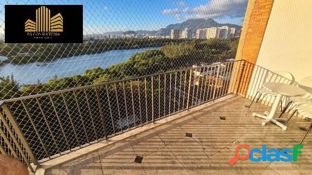 Lindo apartamento com 2 suítes na orla da barra! rio hotel residência (rhr)