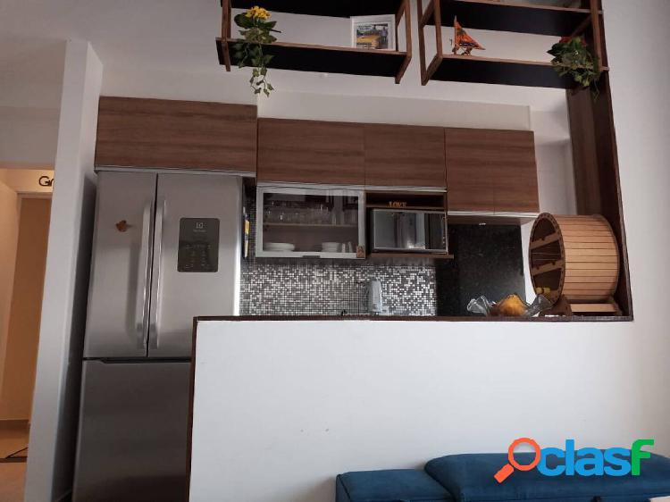 Apartamento campo grande a venda, 2 quartos, 1 vaga, 50m.