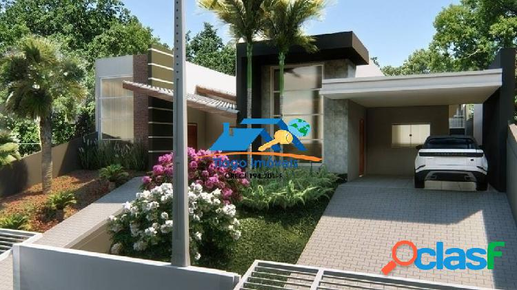 Linda casa para financiamento bancário com piscina