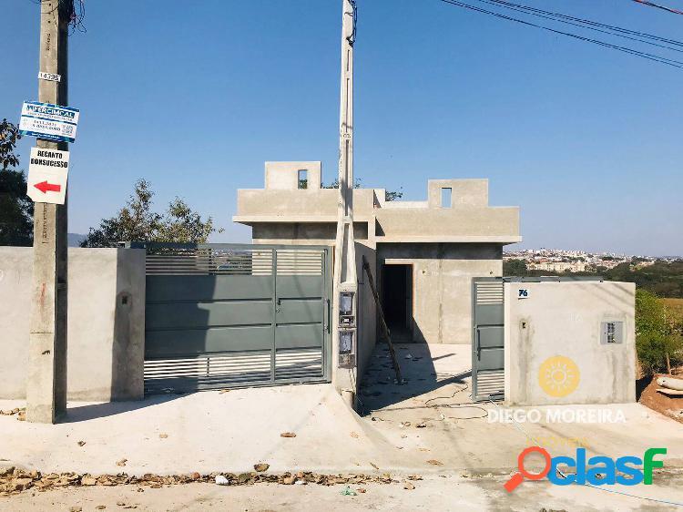 Casa nova à venda em atibaia com 2 dormitórios