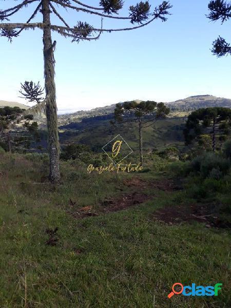 Terreno rural localizado município de urubici- sc
