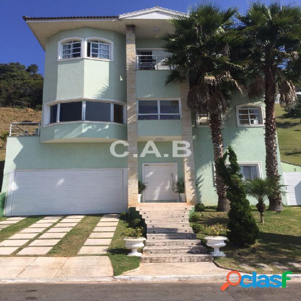 Casa no residencial alpha sítio em alphaville- 5 suites