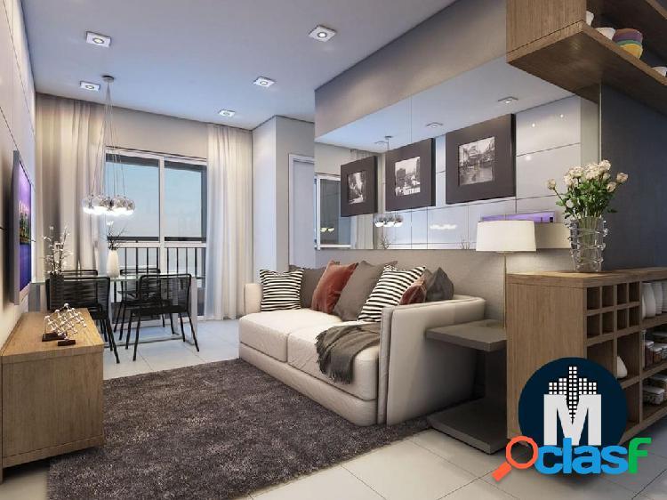 Apartamento de 1 e 2 dormitórios 33m² a 44 m² c/ terraço, lazer completo!!