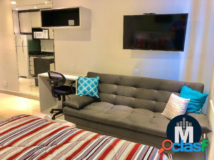 Apto loft/studio á venda 1 quarto, 1 vaga, mobiliado - bethaville barueri